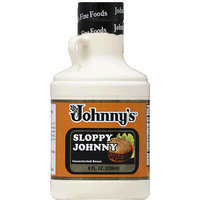Johnny's Fine Foods centrated Sauce, 8 fl oz, (Pack of 6)