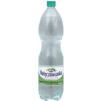 Naleczowianka Carbonated Mineral Water, 1.5 l, (Pack of 6)