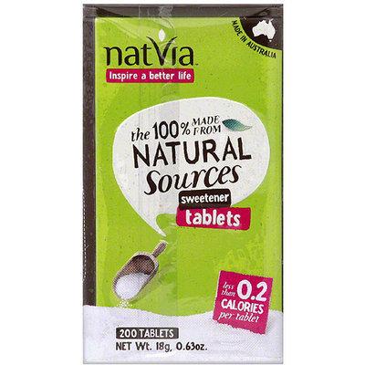 Natvia 200 count, 0.63 oz, (pack of 18)