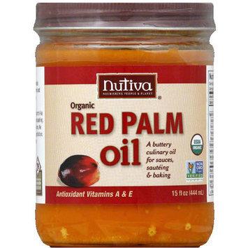Nutiva Organic Red Palm Oil, 15 fl oz