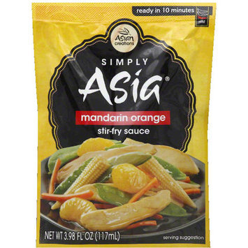 Simply Asia Mandarin Orange Stir-Fry Sauce, 3.98 fl oz, (Pack of 6)