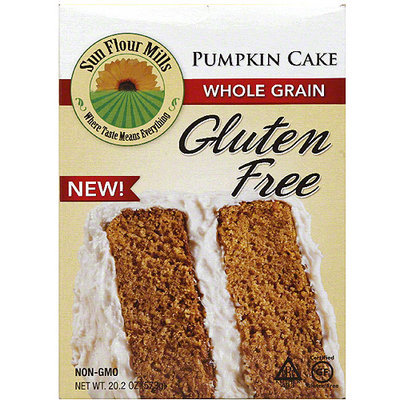 Sun Flour Mills e Whole Grain Pumpkin Cake, 20.2 oz (Pack of 6)