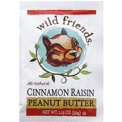 Wild Friends All-Natural Cinnamon Raisin Peanut Butter, 1.15 oz, (Pack of 10)