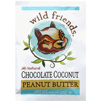 Wild Friends hocolate Coconut Peanut Butter, 1.15 oz, (Pack of 10)