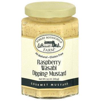 Robert Rothschild Raspberry Wasabi Dipping Gourmet Mustard, 9.3 oz, (Pack of 6)