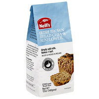 Neill's Chia & Sunflower Bread Mix, 12 oz, (Pack of 4)