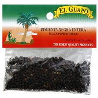El Guapo Whole Black Pepper, 1.25 oz, (Pack of 12)