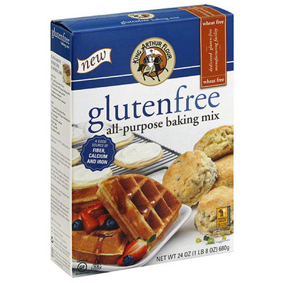 King Arthur Flour Gluten Free All-Purpose Baking Mix, 24 oz, (Pack of 6)