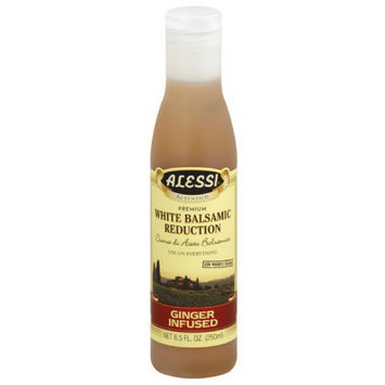 Alessi Ginger Infused White Balsamic Reduction, 8.5 fl oz, (Pack of 6)