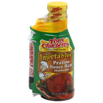 Tony Chachere's ole Cuisine Injectables Praline Honey Ham Marinade, 17 fl oz, (Pack of 6)