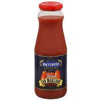 Racconto Risevera Passata San Marzano Pomodori Sauce, 24 oz, (Pack of 12)