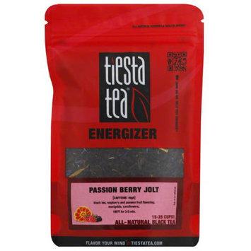 Tiesta Tea on Berry Jolt All-Natural Black Tea, 1.5 oz, (Pack of 6)