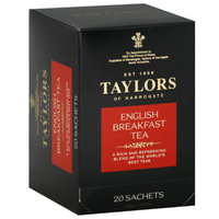 Taylors Of Harrogate sh Breakfast Tea Bags, 20 count, 1.76 oz, (Pack of 6)