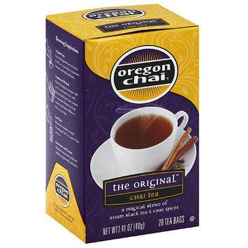 Oregon Chai hai Tea Bags, 20 count, 1.41 oz, (Pack of 6)