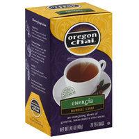Oregon Chai Chai Tea Bags, 20 count, 1.41 oz, (Pack of 6)