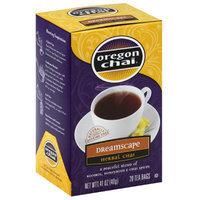Oregon Chai bal Chai Tea Bags, 20 count, 1.41 oz, (Pack of 6)