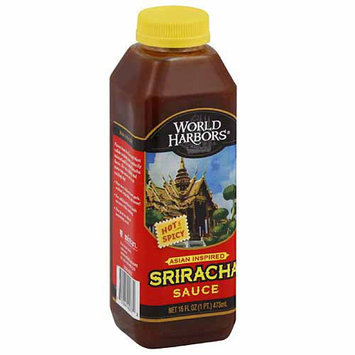 World Harbors Sriracha Sauce, 16 fl oz, (Pack of 6)
