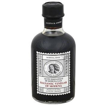 Cucina & Amore Balsamic Vinegar of Modena, 16.9 fl oz, (Pack of 6)