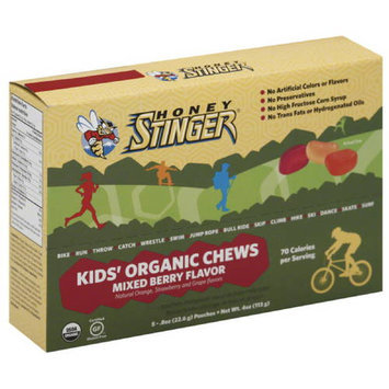 Honey Stinger Mixed Berry Flavor Kids' Organic Chews, 0.5 oz, 8 count