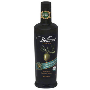 Bellucci Premium Certified Organic Extra Virgin Olive Oil, 16.9 fl oz, (Pack of 6)