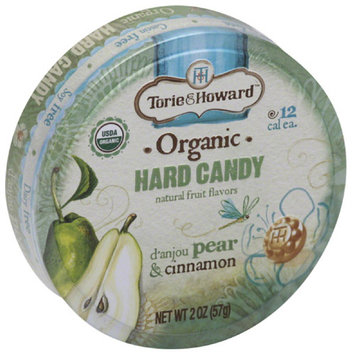 Torie & Howard d'anjou Pear & Cinnamon Organic Hard Candy, 2 oz, (Pack of 8)