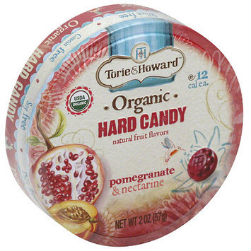Torie & Howard Pomegranate & Nectarine Organic Hard Candy, 2 oz, (Pack of 8)