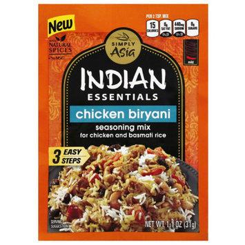 Simply Asia Indian Essentials Chicken Biryani Seasoning Mix, 1.1 oz, (Pack of 12)