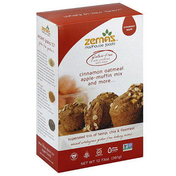 Zema's mon Oatmeal Apple-Muffin Mix and More, 12.73 oz, (Pack of 6)
