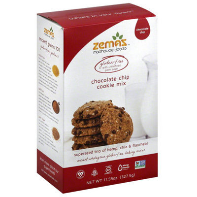 Zema's late Chip Cookie Mix, 11.55 oz, (Pack of 6)