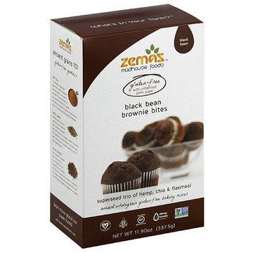 Zema's Bean Brownie Bites Mix, 11.9 oz, (Pack of 6)
