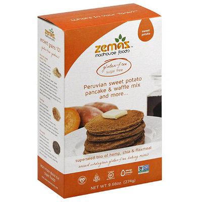 Zema's ian Sweet Potato Pancake & Waffle Mix & More, 9.66 oz, (Pack of 6)