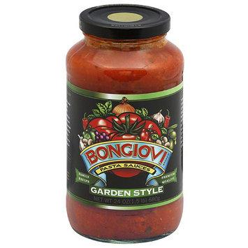 Bongiivi Bongiovi Garden Style Pasta Sauce, 24 oz (Pack of 6)