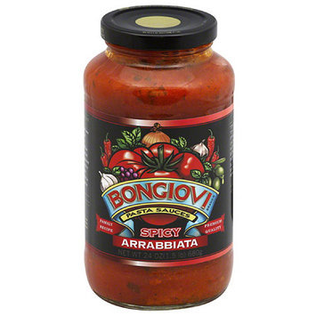 Bongiivi Bongiovi Spicy Arrabbiata Pasta Sauce, 24 oz (Pack of 6)