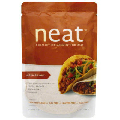 Neat Mexican Mix Meat Replacement, 5.5 oz, (Pack of 6)