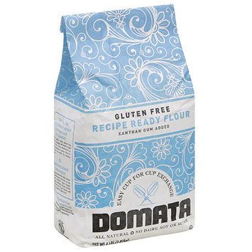 Domata Gluten Free Recipe Ready Flour, 4 lbs, (Pack of 4)