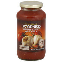Wholesome Goodness Roasted Garlic Pasta Sauce, 24 oz, (Pack of 12)