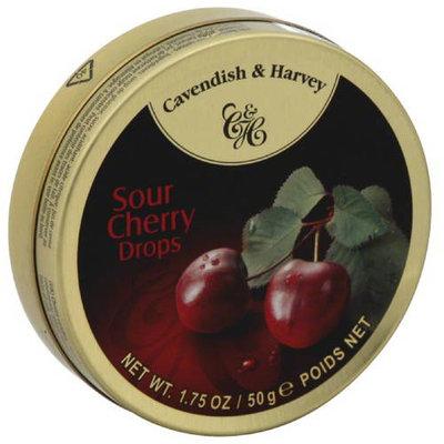 Cavendish & Harvey Sour Cherry Drops, 1.75 oz, (Pack of 14)