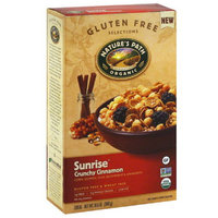 Nature's Path Organic Gluten Free Selections Sunrise Crunchy Cinnamon Cereal, 10.6 oz, (Pack of 6)