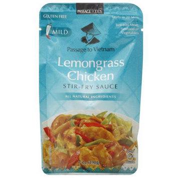 Passage Foods ietnam Lemongrass Chicken Stir-Fry Sauce, 7 oz, (Pack of 6)