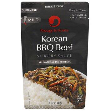 Passage Foods orea Korean BBQ Beef Stir-Fry Sauce, 7 oz, (Pack of 6)