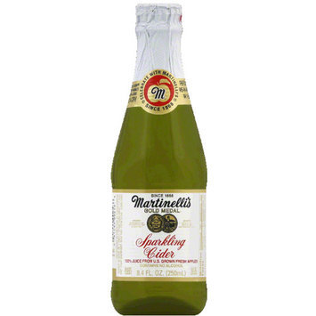 Martinelli's Gold Medal Sparkling Cider, 8.4 fl oz, (Pack of 12)