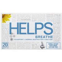 Helps Breathe Caffeine Free Herbal Dietary Supplement Tea Bags, 20 count, (Pack of 6)