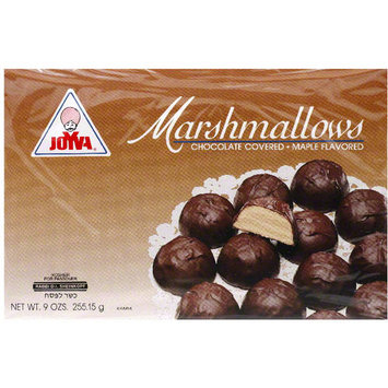 Joyva Chocolate Covered Maple Flavored Marshmallows, 9 oz, (Pack of 12)