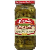 Mezzetta Deli-Sliced Tamed Jalapeno Peppers, 16 fl oz, (Pack of 6)