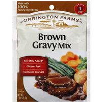 Orrington Farms Brown Gravy Mix, 1 oz, (Pack of 12)