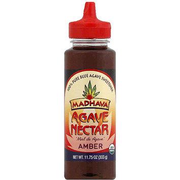 Madhava Honey Madhava Amber Agave Nectar, 11.75 oz, (Pack of 6)
