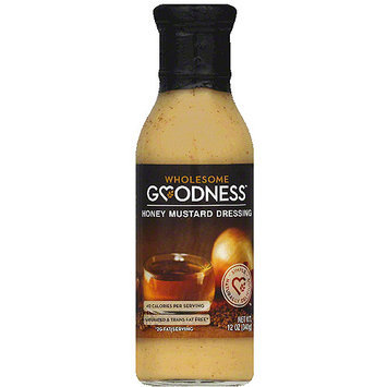 Wholesome Goodness ustard Dressing, 12 fl oz, (Pack of 12)