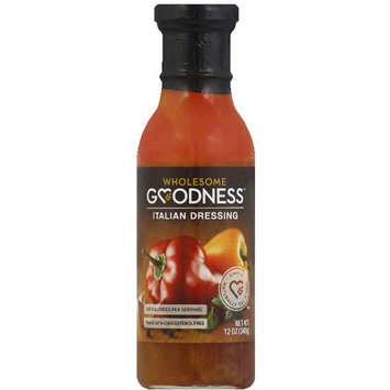 Wholesome Goodness Dressing, 12 fl oz, (Pack of 12)