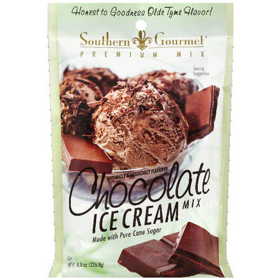 Southern Gourmet Chocolate Ice Cream Mix, 8.0 oz, (Pack of 8)