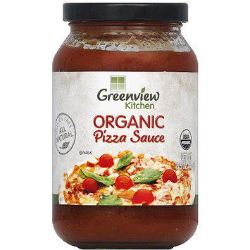 Greenview Kitchen Pizza Sauce, 15.5 oz, (Pack of 6)